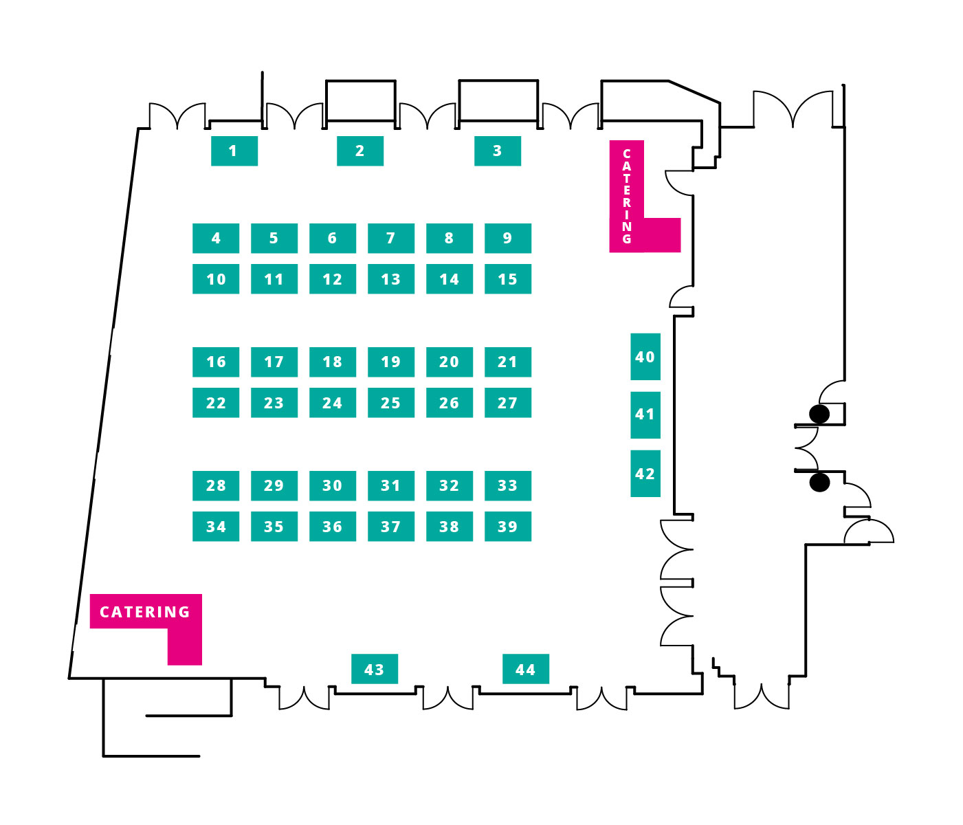 International Maternity Expo 2019 Exhibition Floor Plan
